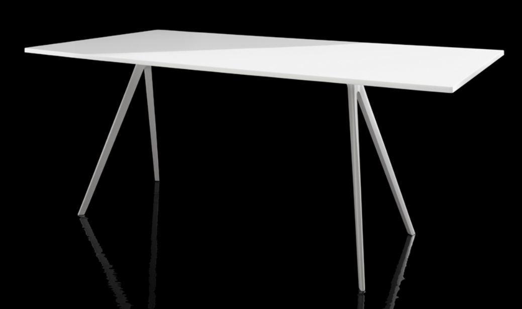 Magis baguette tafel frame wit bigbrands - Tafel magis eerste ...