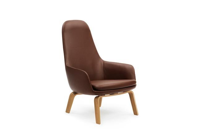 Normann Copenhagen Era Lounge Chair High Eikenhout