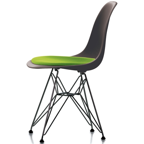 Kussen eames stoel meest populair eames bureaustoel for Eames stoel zwart